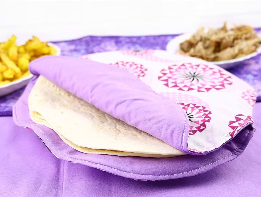 cloth tortilla warmer