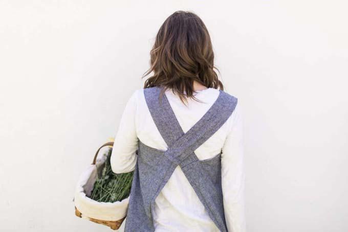 pinnafore apron pattern