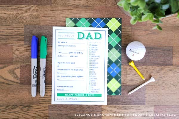 fill in the blanks fathers day cards