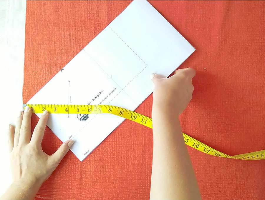 fitting a pattern in a yard of fabric