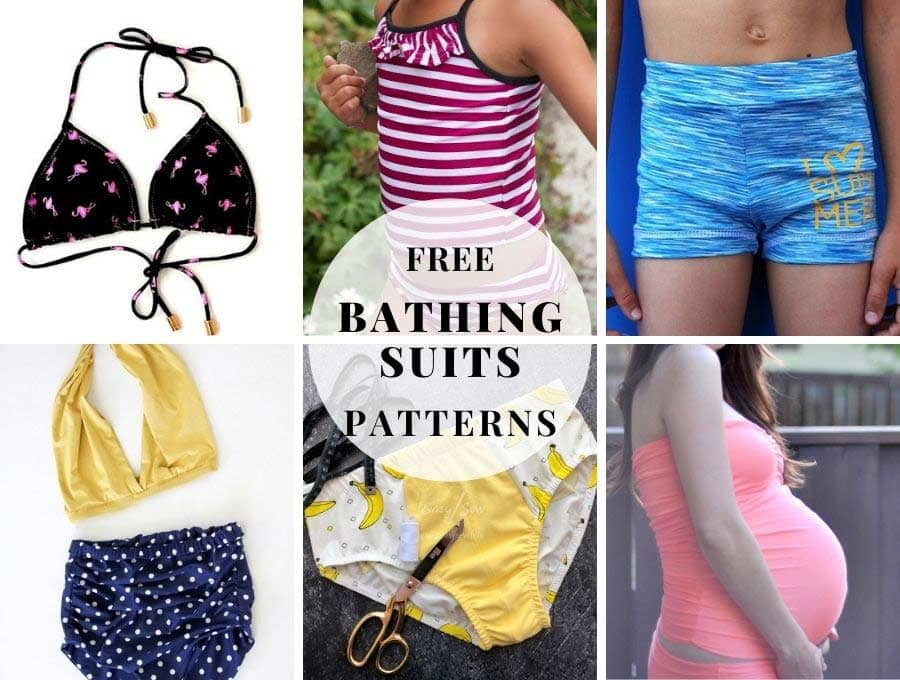 free bathing suits patterns