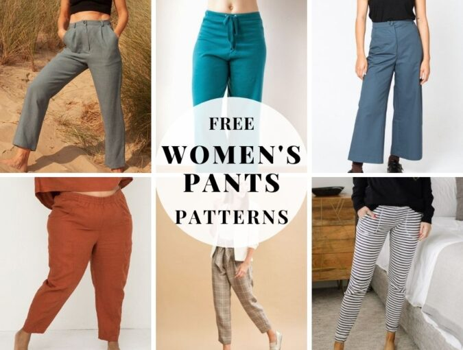free sewing patterns for women's pants