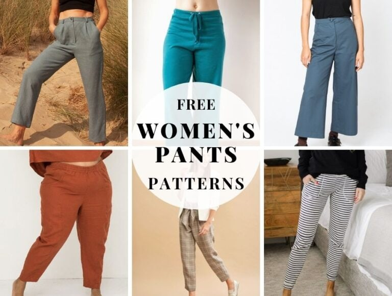 17+ Free Sewing Patterns for Women's Pants