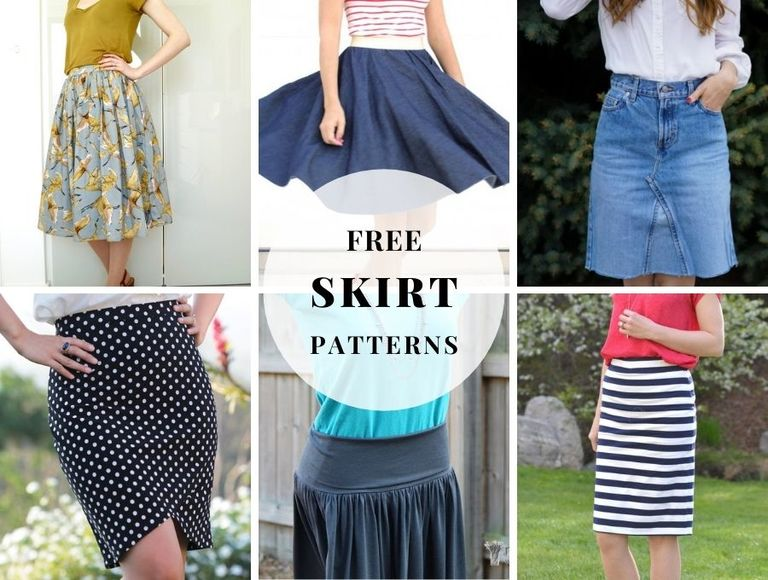 10+ Free Skirt Patterns to Sew and Flatter Your Figure Beautifully