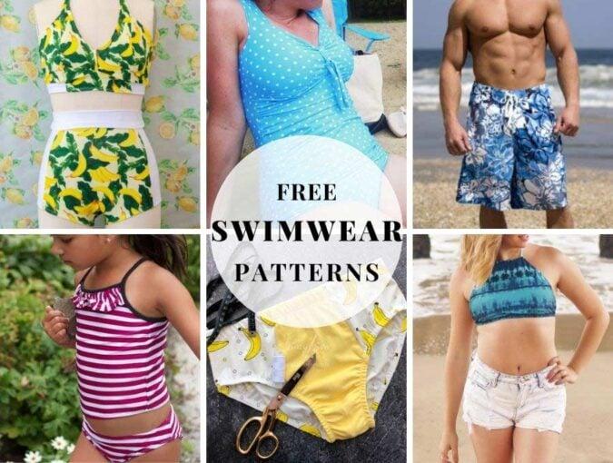 free swimwear patterns