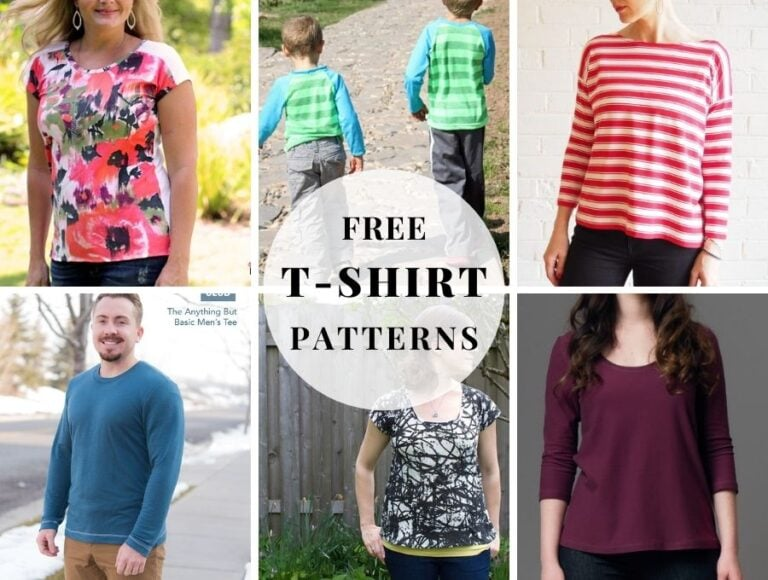 Sew Easy: Free T-shirt Sewing Patterns