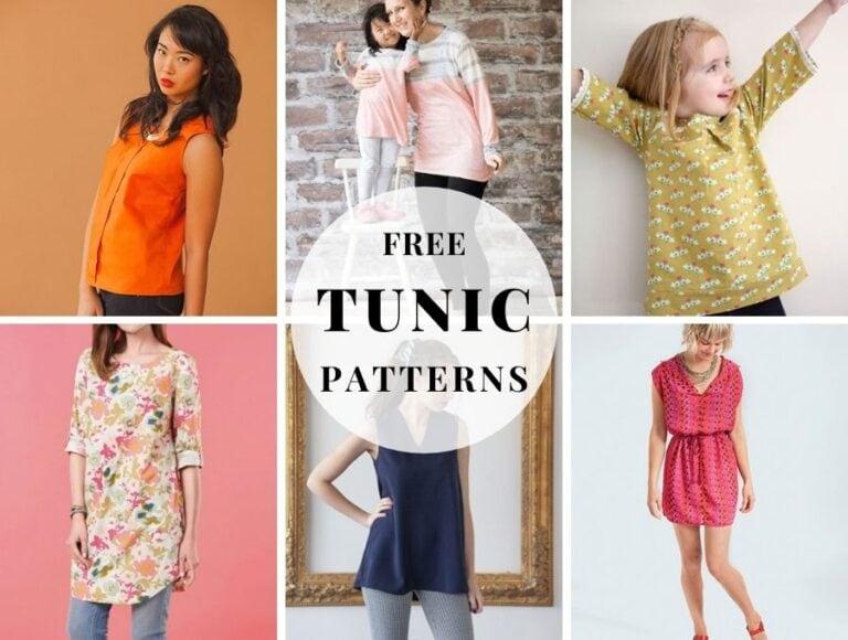 Tunic Patterns – Stylish, Fun, and Quick to Sew