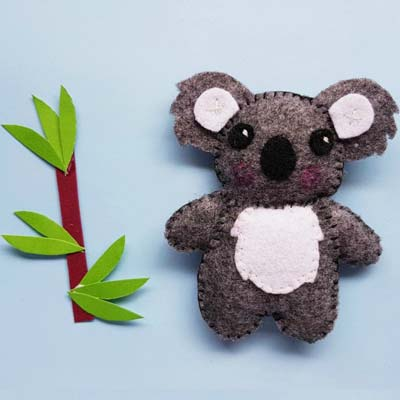 free koala plushie pattern