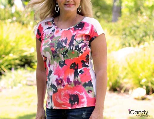 free women's t shirt pattern