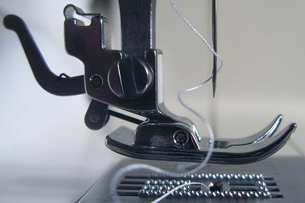 getting sewing machine dressmaking