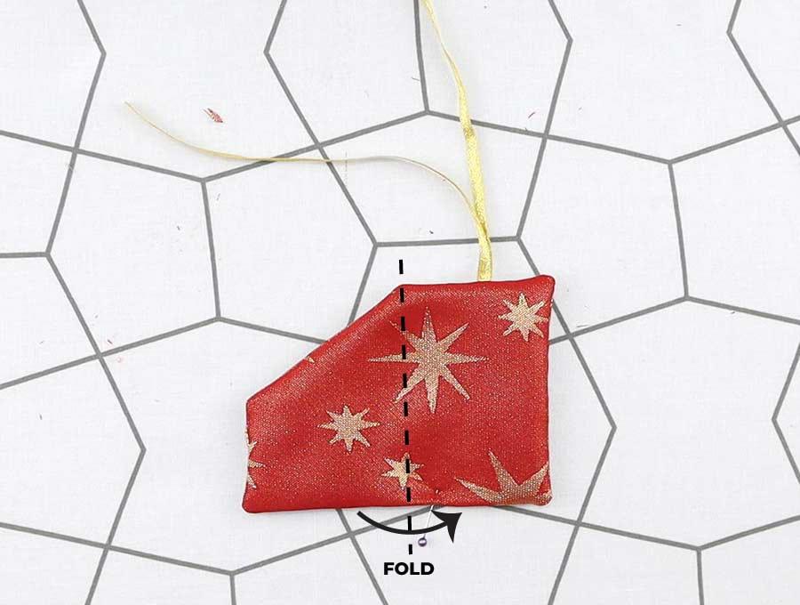 folded gift card holder