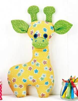 free stuffed giraffe toy pattern