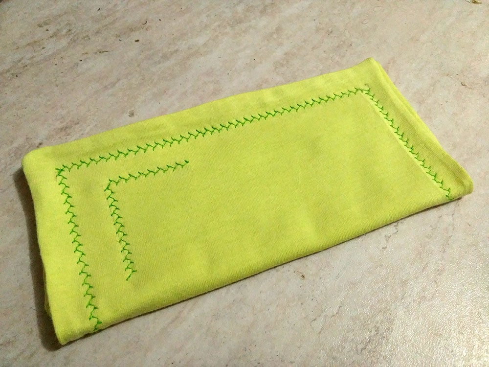 handmade reusable cloth napkins