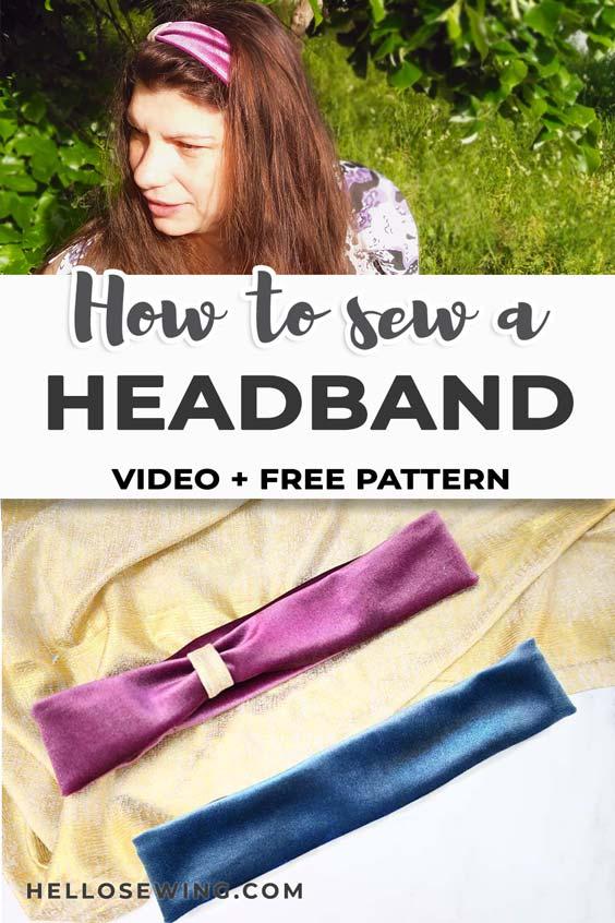 How to make a Stretchy Headband Tutorial