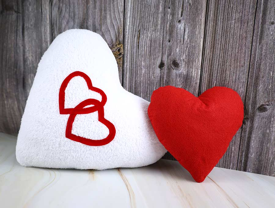 DIY Heart Pillow Pattern