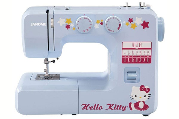 Janome 15312 is cute in blue