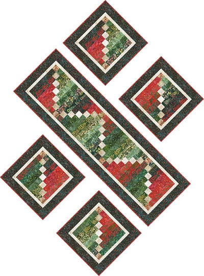 holiday moments table runner pattern