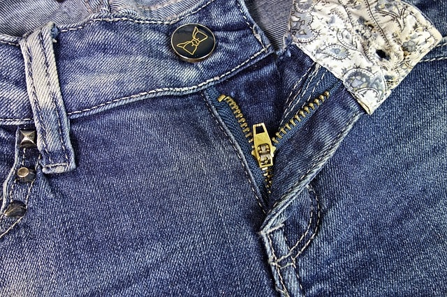 how to sew denim jeans cover