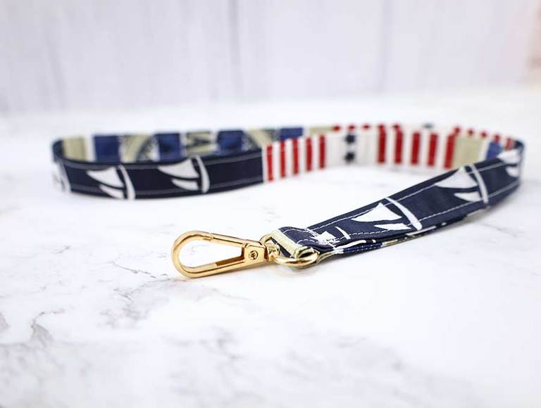 How to Make a Lanyard out of Fabric (Quick and Easy)