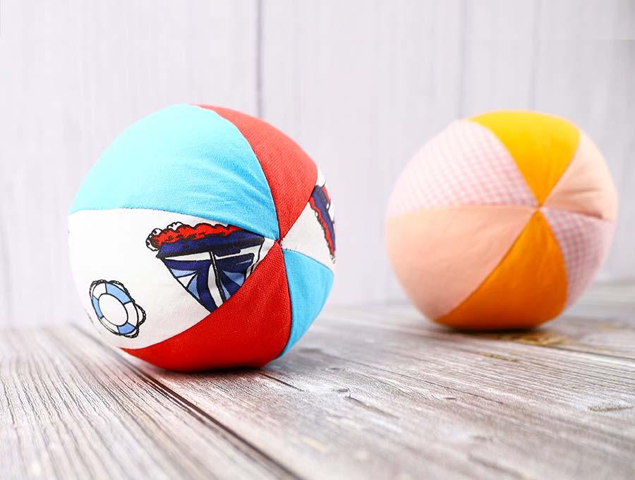 how to make a fabric ball