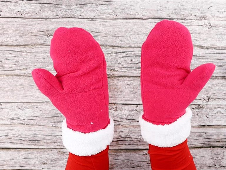 How to Make Fleece Mittens with Faux Fur Lining – Free Mitten Pattern