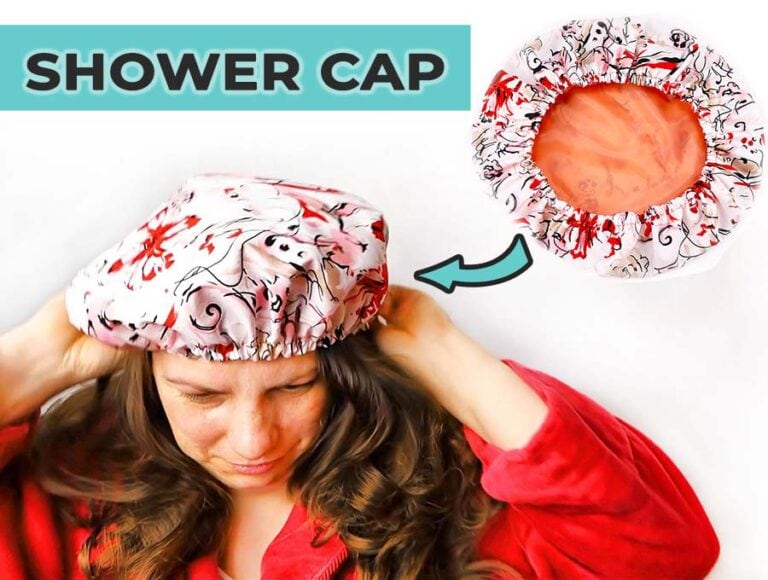 DIY Shower Cap – How to Sew a Shower Cap in 10 minutes