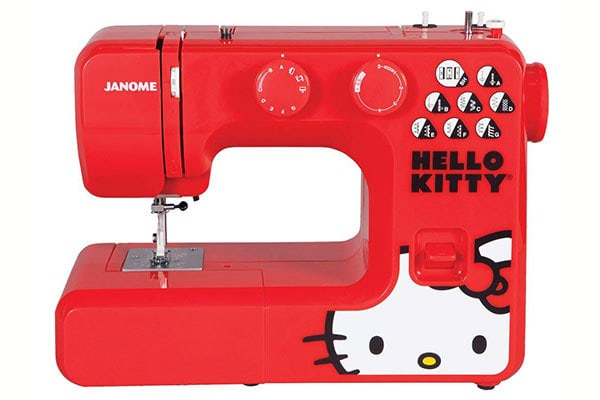 Janome 13512 Red is bright and super cute