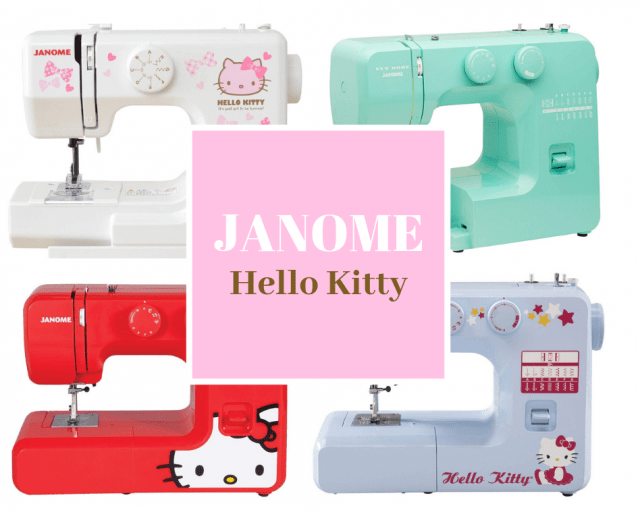 Janome Hello Kitty Sewing Machines Comparisons and Reviews