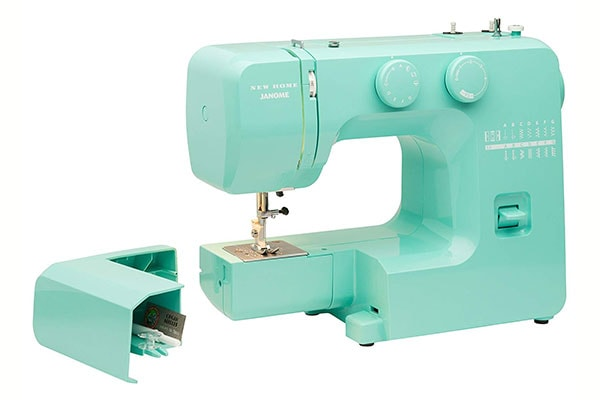 Janome Arctic Crystal - the light green machine is lovely
