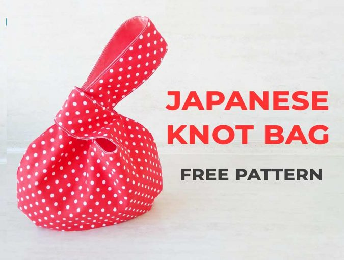 japanese knot bag tutorial
