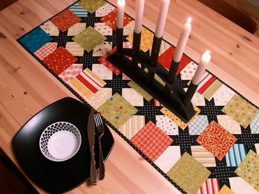 jingle jolly table runner pattern