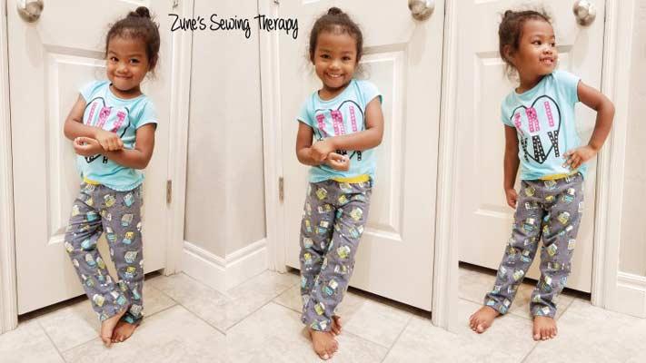girls pants pattern