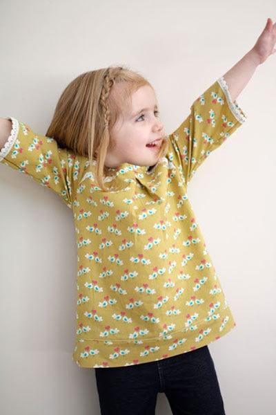 girl's tunic pattern