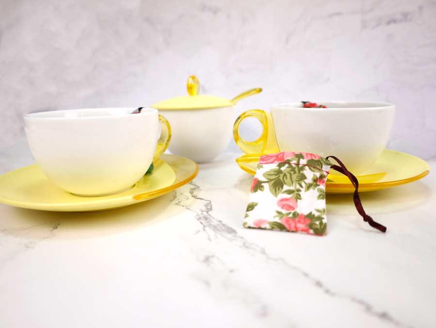 making your own reusable tea bag