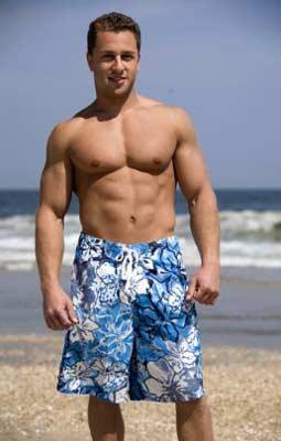 men's board shorts pattern