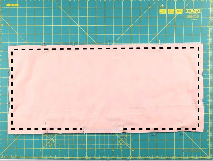 microwave potato bag stitching lines