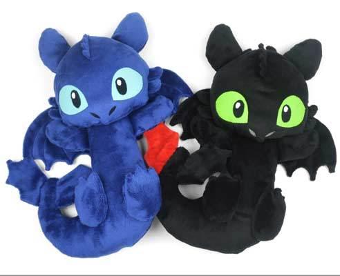 free night fury plush toy sewing pattern