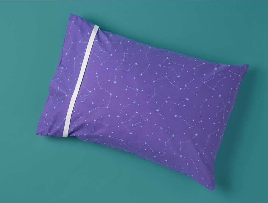night sky throw pillows