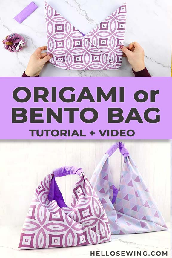 DIY origami or bento bag