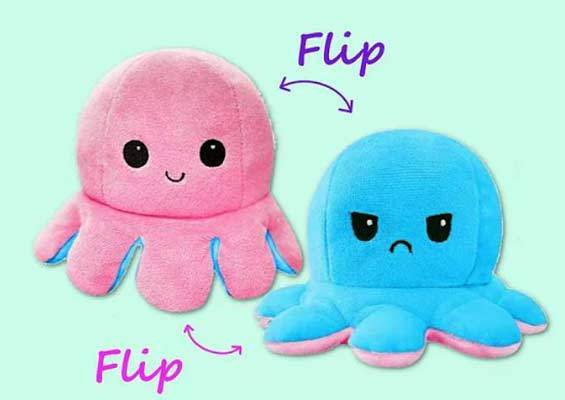 Free reversible octopus pattern and video tutorial