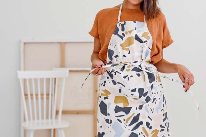 beginners apron pattern