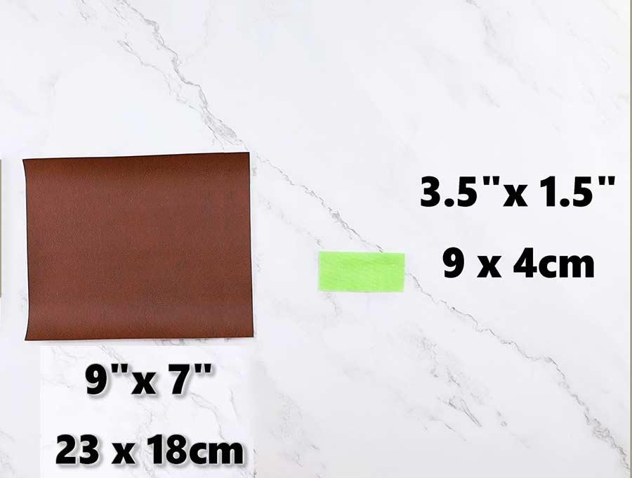 pencil case pattern dimensions and cut fabrics