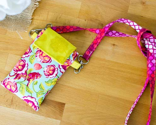 phone wallet back to school sewing project