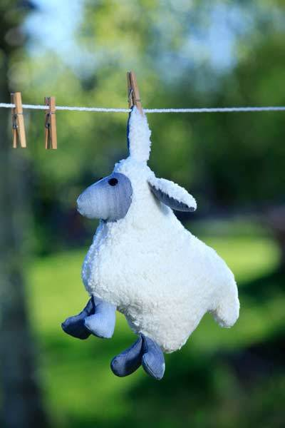 free plush sheep sewing pattern