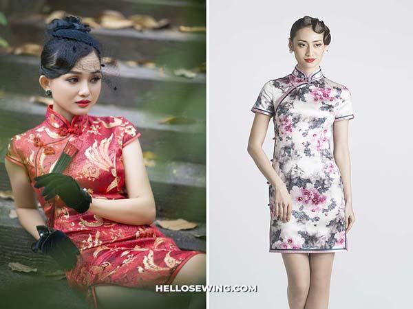 Qi pao Cheongsam dress