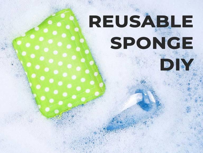 DIY Reusable Sponges // Unsponges – Zero Waste Kitchen Scrubbers Tutorial