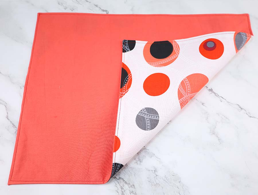 reversible diy placemat