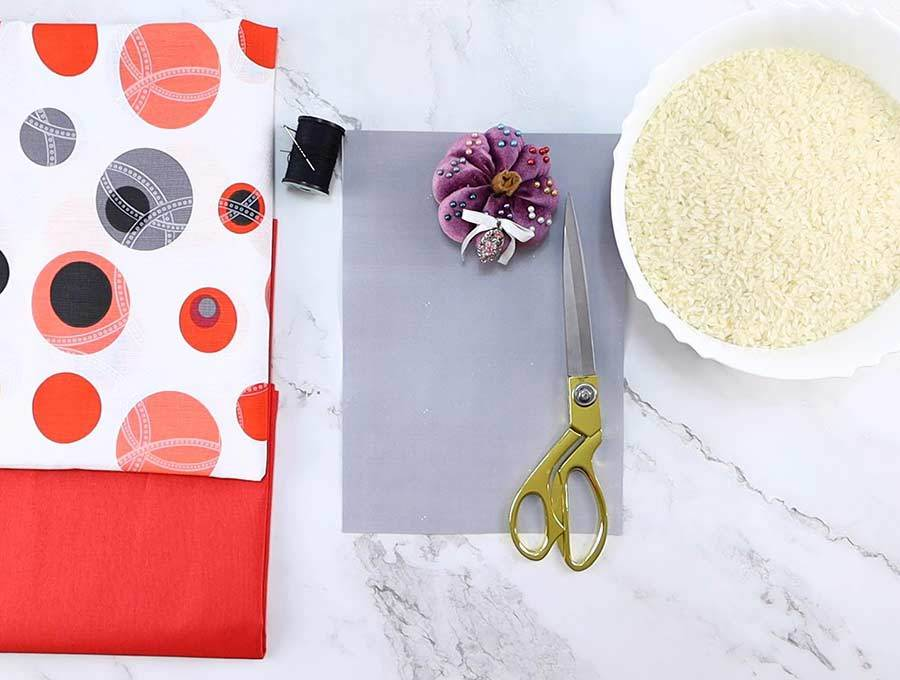 rice heating pad supplies