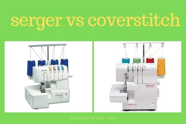 serger vs coverstitch