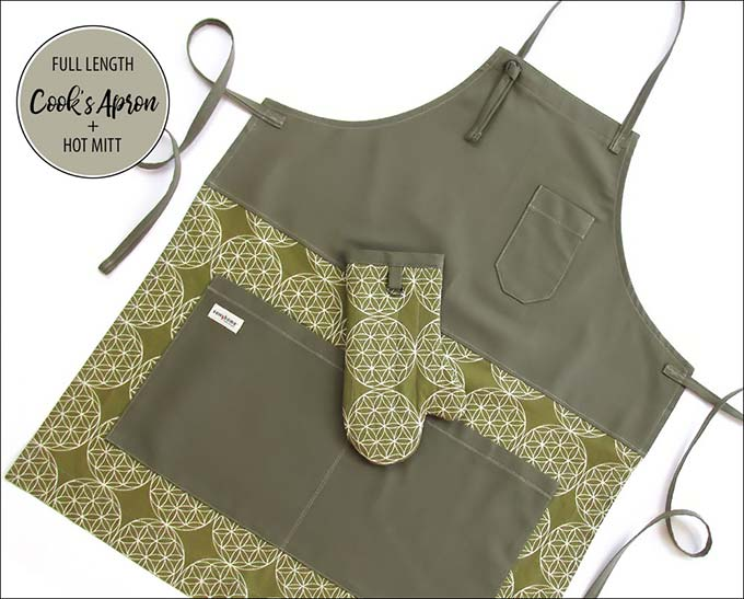 cook's apron pattern